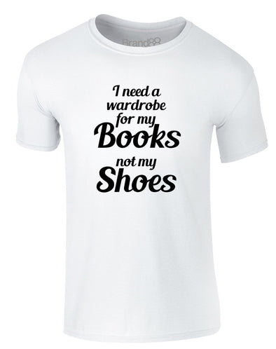 Books Before Shoes | Adults T-Shirt