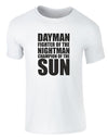 Dayman Fighter Of The Nightman | Adults T-Shirt