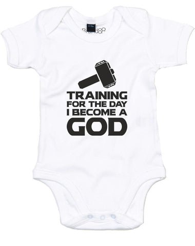 Training For The Day I Become A God | Baby Grow