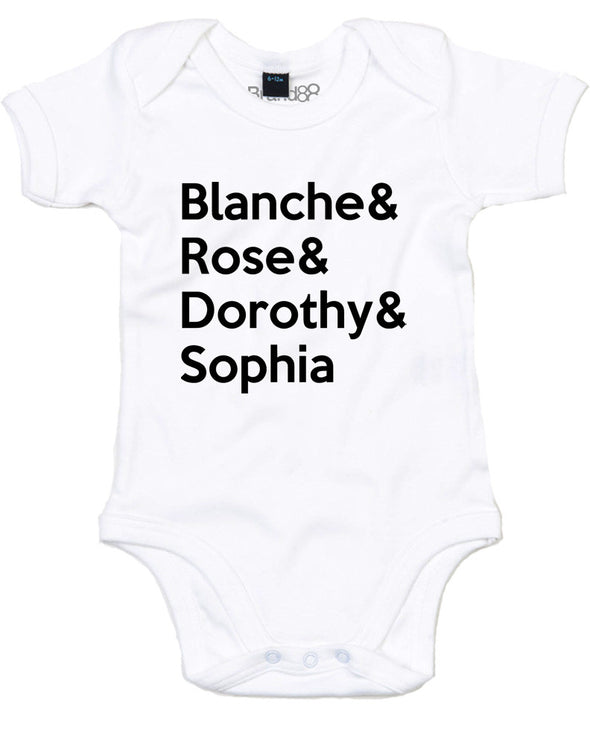 Blanche & Rose & Dorothy & Sophia | Baby Grow