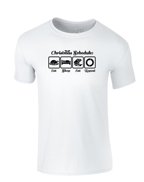 Christmas Schedule | Kids T-Shirt