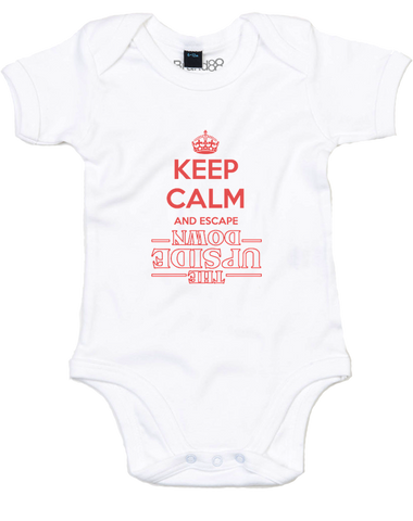 Keep Calm and Escape | Baby Grow
