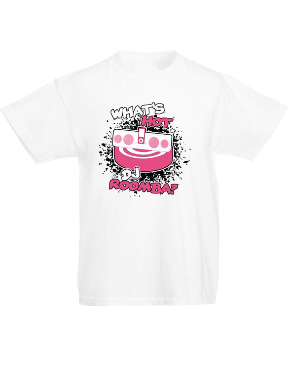 DJ Roomba | Kids T-Shirt