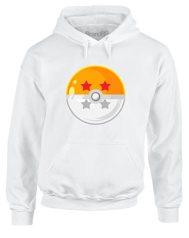 Poke-Dragon-Ball | Adults Hoodie