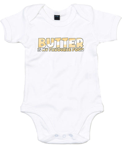 Butter is My Favourite Food | Baby Grow