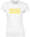 Take Your Opinion and... | Womens T-Shirt