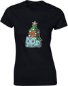 Christmas Bulbasaur | Womens T-Shirt