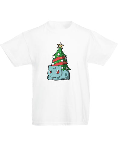 Christmas Bulbasaur | Kids T-Shirt