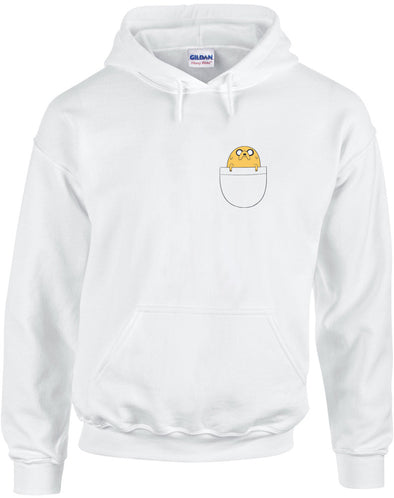 Pocket Jake | Adults Hoodie