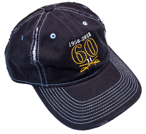 60th Anniversary Cap - Distressed