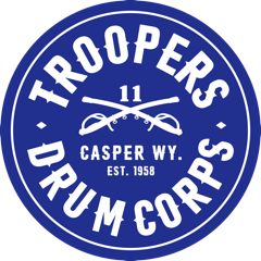 Troopers Circle Sticker