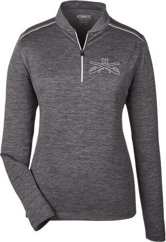 Ladies' Kinetic Performance Quarter-Zip Pullover