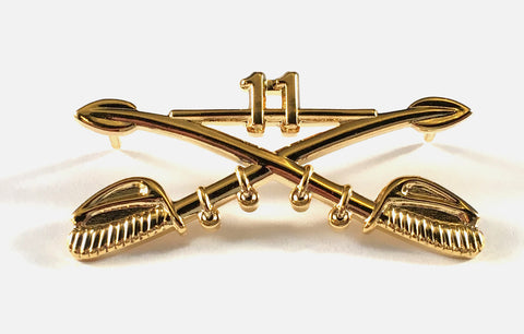 Cross Sabers Pin - Medium