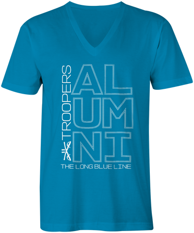 Alumni Summer Blue V-Neck Tshirt - Men's