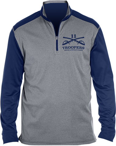 Troopers Quarter-Zip Pullover