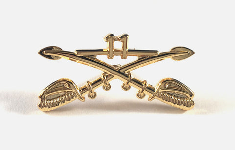 Cross Sabers Pin - Small