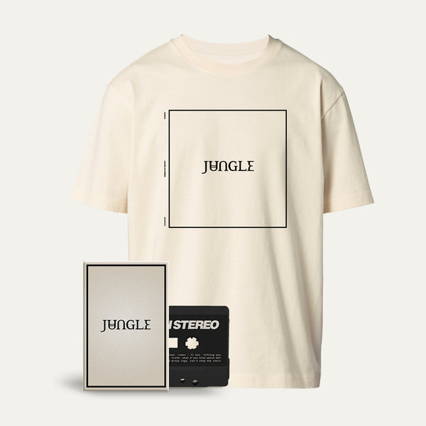 Cassette + Cream Album Cover T-shirt [Pre-Order]