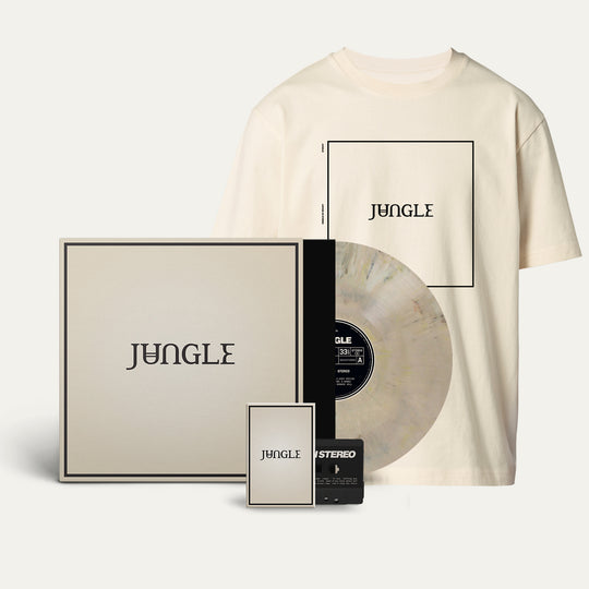 Exclusive Marbled Vinyl + Cassette + Album Cover Cream T-shirt [Pre-Order]