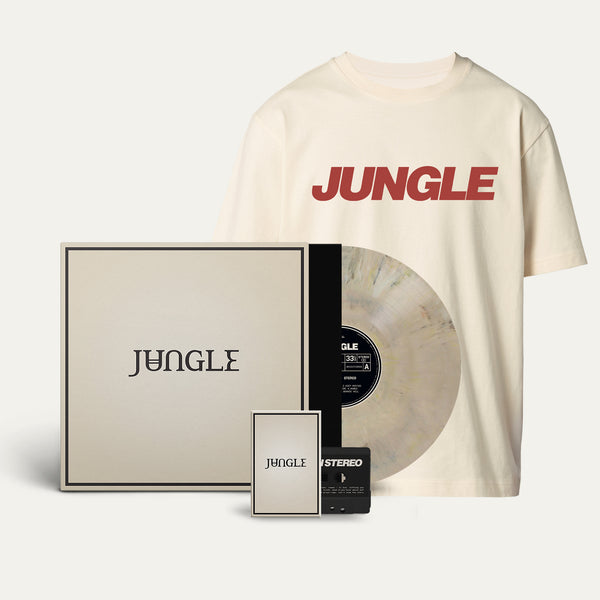 Exclusive Marbled Vinyl + Cassette + Jungle Logo Cream T-shirt [Pre-Order]