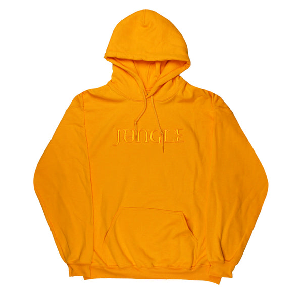 GOLD EMBROIDERED JUNGLE LOGO GOLD HOODY