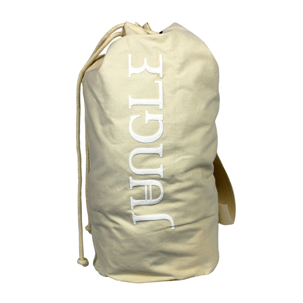 JUNGLE LOGO NATURAL DUFFLE BAG