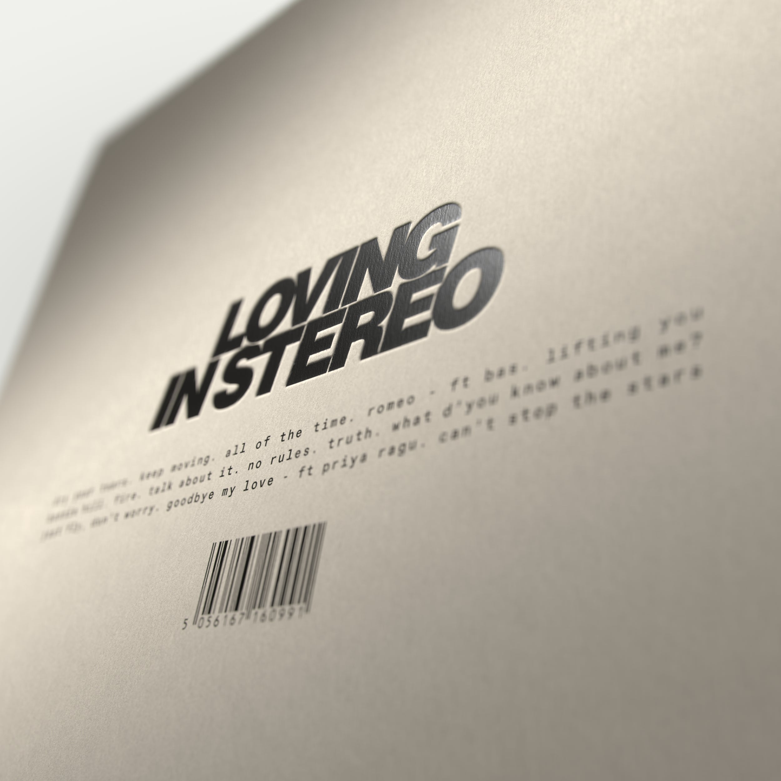LOVING IN STEREO - EXCLUSIVE MARBLED VINYL [Pre-Order]