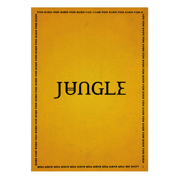 JUNGLE FOR EVER POSTER