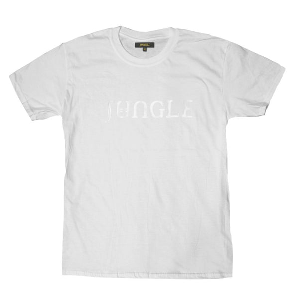 WHITE JUNGLE GEL LOGO T-SHIRT