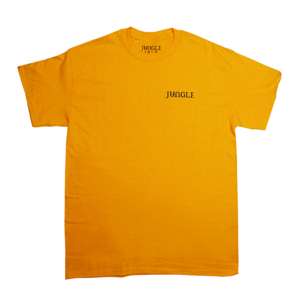 JUNGLE CHEST LOGO GOLD T-SHIRT