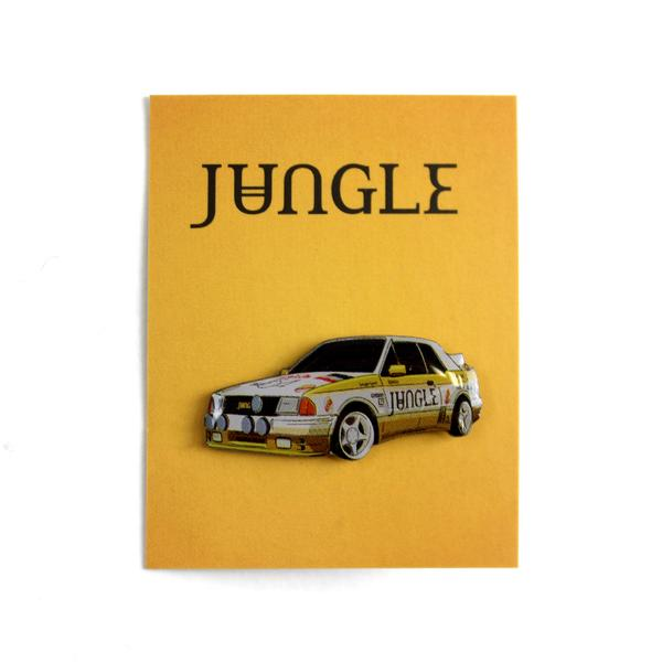 JUNGLE FOR EVER CAR PIN BADGE