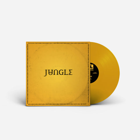 JUNGLE - For Ever Limited yellow LP