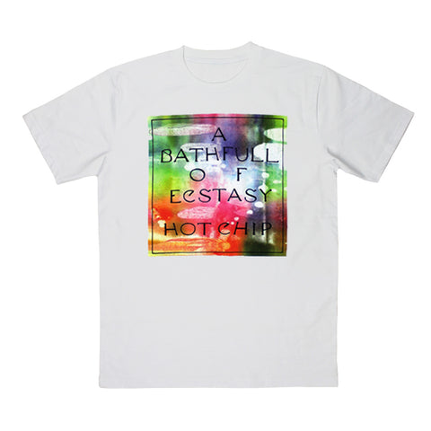 A BATHFULL OF ECSTASY WHITE T-SHIRT