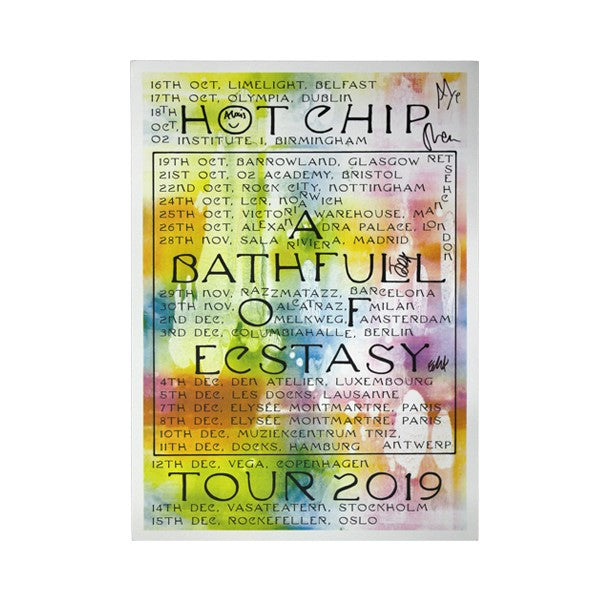2019 UK/EU TOUR POSTER (Signed)
