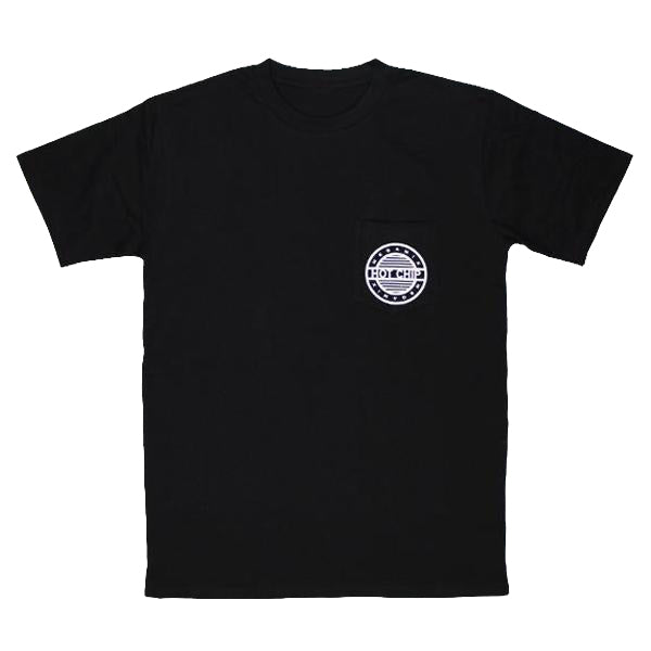 HOT CHIP MEGAMIX POCKET BLACK T-SHIRT