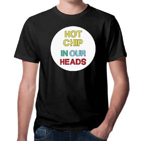 CIRCLE HOT CHIP IN OUR HEADS DESIGN - MENS