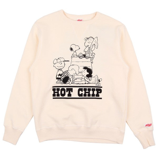 VINTAGE WHITE 'LOOKING FOR A LOT OF LOVE' SWEATSHIRT