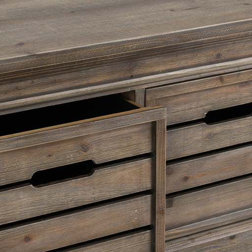 Brooklyn Distressed Pine Six Drawer Chest - The Furniture Mega Store