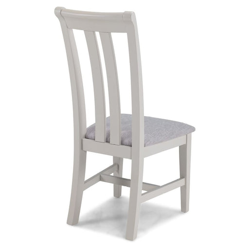 Sunbury Oak And Grey Painted Upholstered Dining Chair