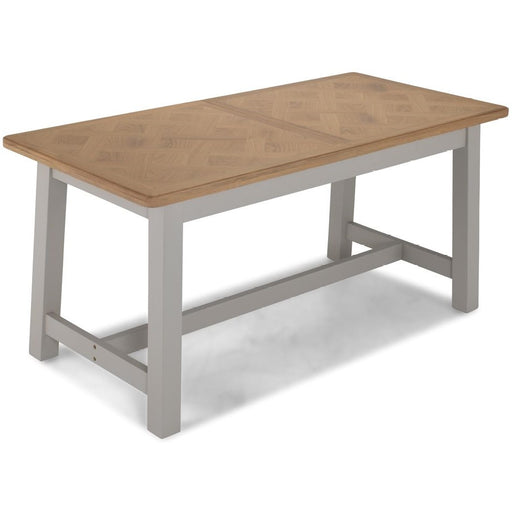 Sunbury Oak And Grey Painted 1.6 Extending Table