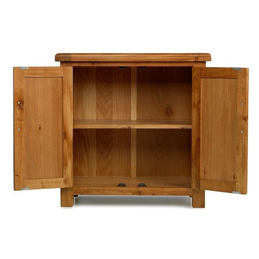 Earlswood Oak Petite Hall Cupboard - The Furniture Mega Store