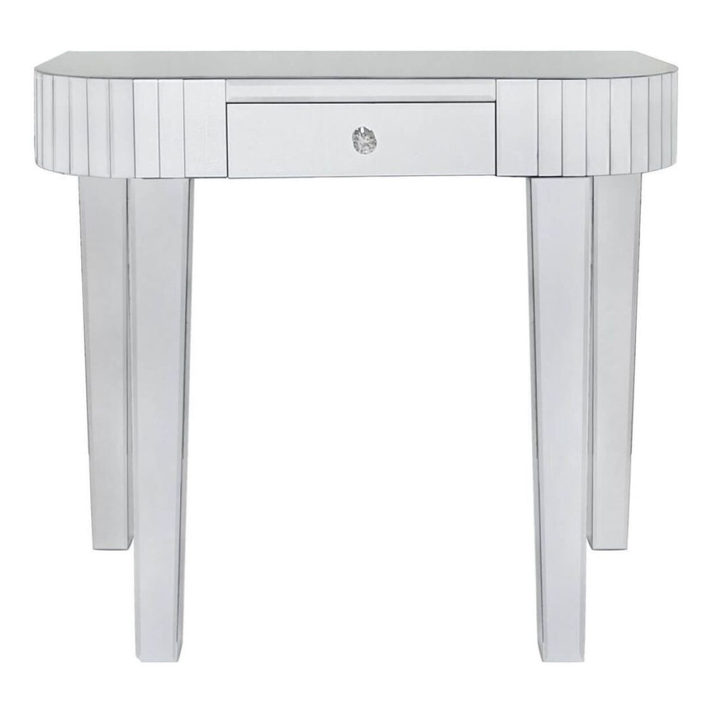 Divine Mirrored Tiled Console Table