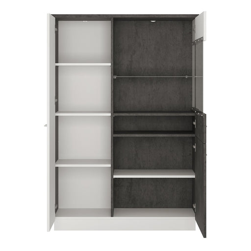 Stretto Low display cabinet (RH)