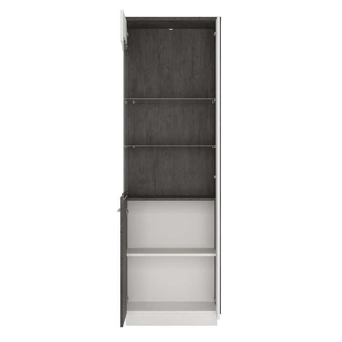Stretto Tall Glazed display cabinet (LH)