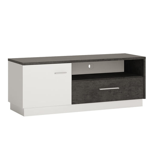 Stretto 1 door 1 drawer TV cabinet