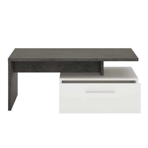Stretto 2 drawer coffee table