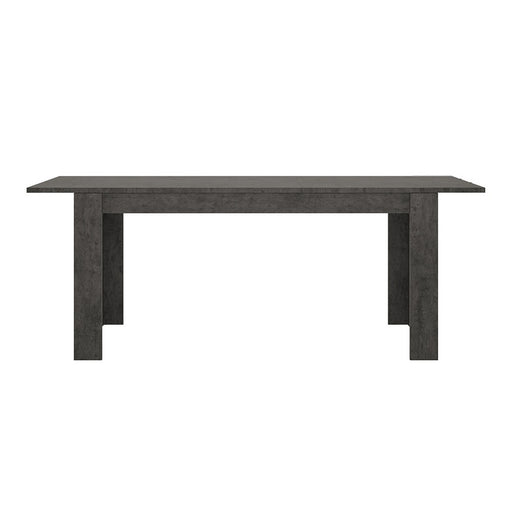 Stretto Extendable Dining table in Slate Grey 160cm - 200cm