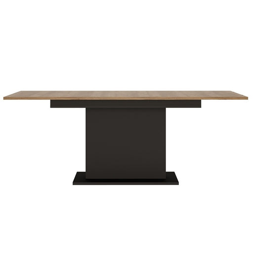 Brogeo Extending Dining Table 160 - 200 cm- walnut and dark panel finish