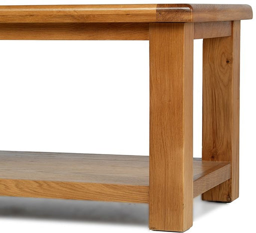 Earlswood Solid Oak Coffee Table - The Furniture Mega Store