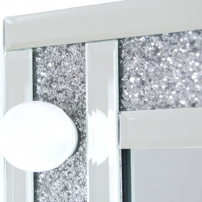Sparkle Mirrored Broadway 6 Light Vanity Mirror
