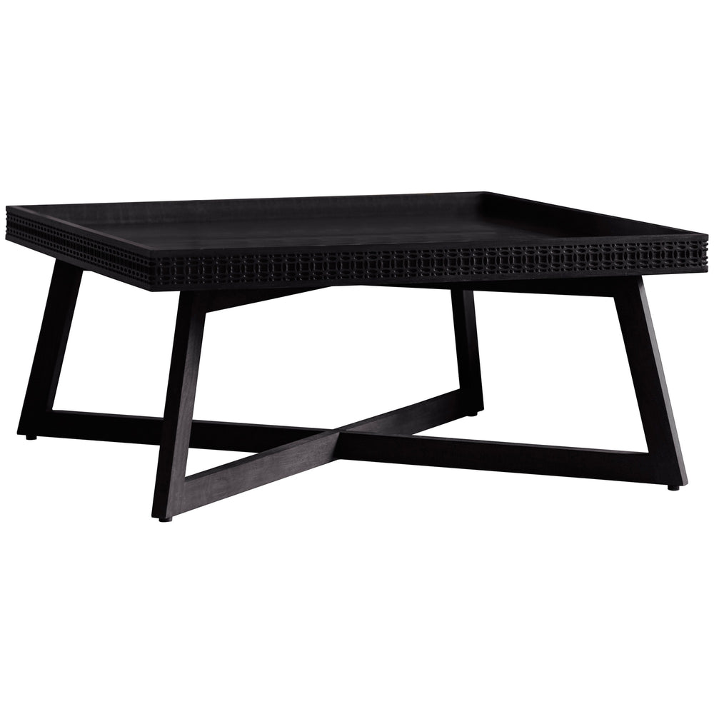 Bohemian Boutique Square Coffee Table, 90cm